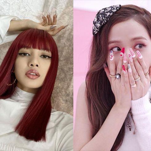 韓国アイドル ロングネイル