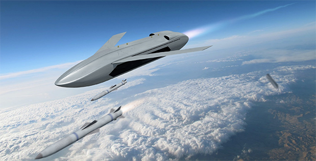 The Pentagon Is Building a Fighter Drone Armed With Air-to-Air Missiles