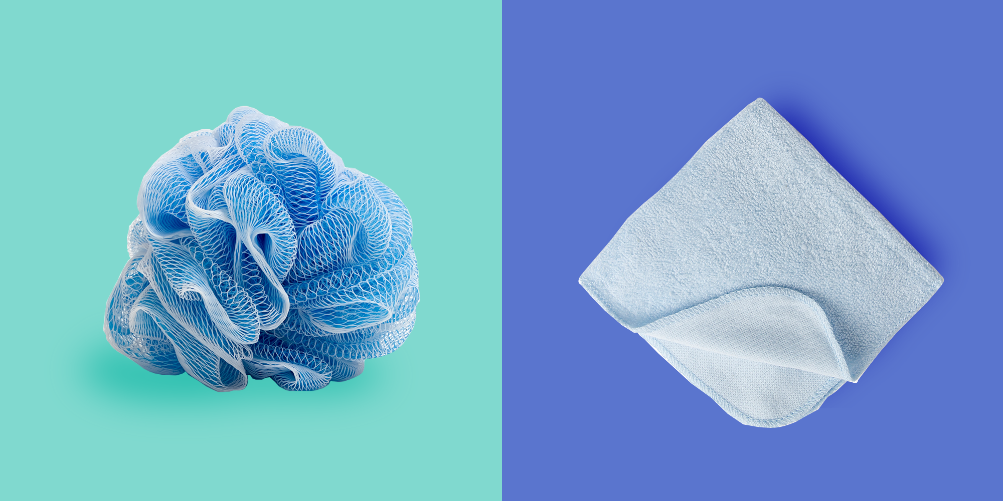 What S Safer To Use In The Shower Loofah Or Washcloth