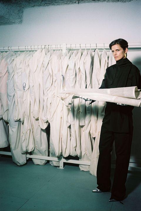 Textile, Clothes hanger, Fashion, Suit trousers, Collection, Fashion design, Home accessories,