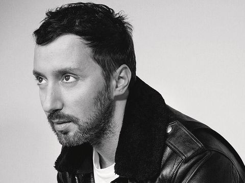 Hair, Face, Facial hair, Beard, Hairstyle, Chin, Leather, Nose, Jacket, Leather jacket,