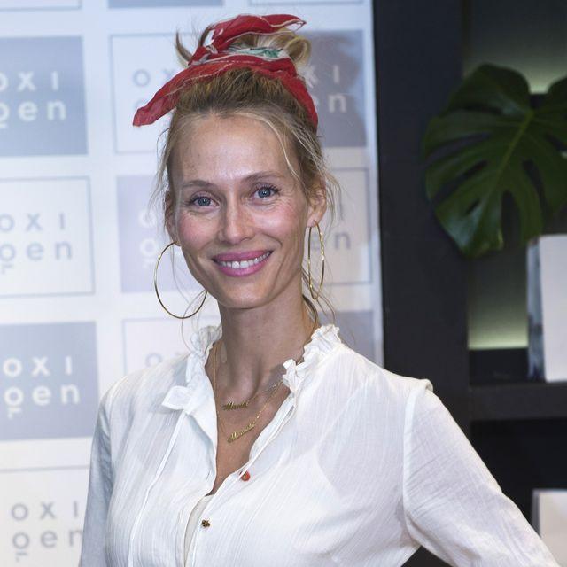 barcelona, spain   april 18  model vanesa lorenzo attends anniversary party of oxigen at restaurante la farga on april 18, 2018 in barcelona, spain  photo by jordi vidalgetty images