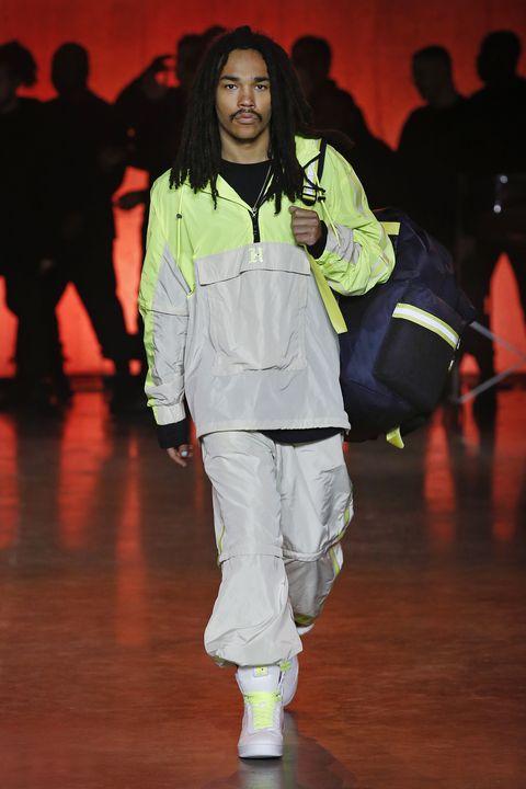Fashion, Human, Runway, Event, Fun, Footwear, Dance, Outerwear, Fashion design, Sportswear,
