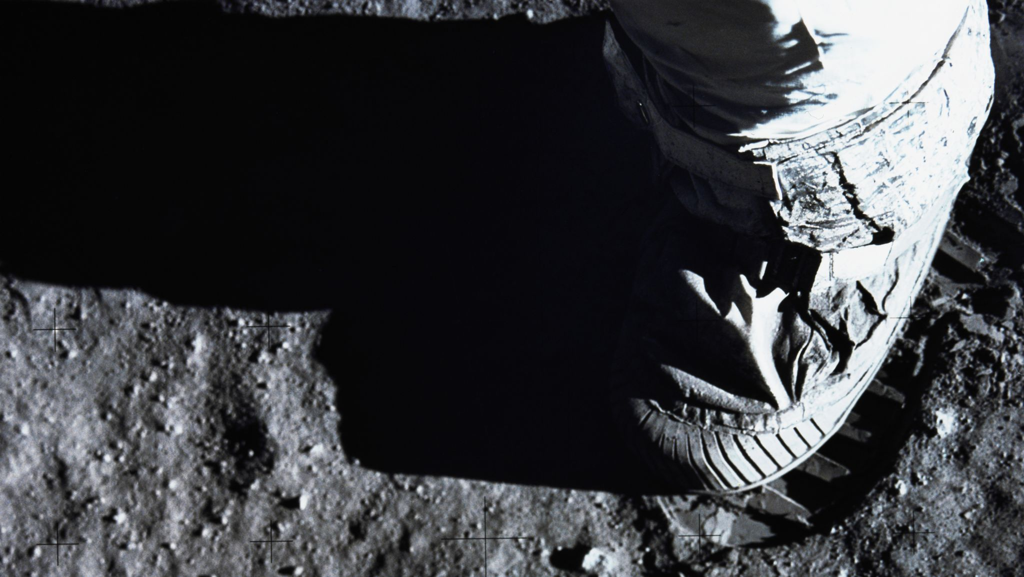 Man's First Day on the Moon