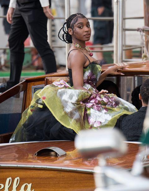 guest looks at the dolcegabbana show in venice like jennifer lopez, heidi klum, leni klum, lady kitty spencer, helen mirren, zoe saldana or normani