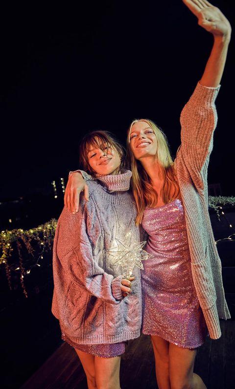 Looks de Navidad y Nochevieja para fiestas en casa