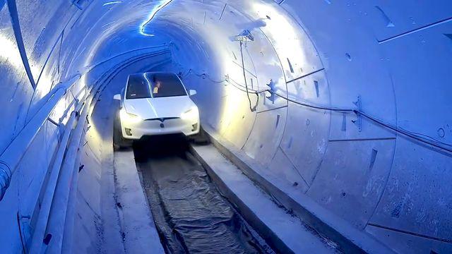 boring company demo tunnel