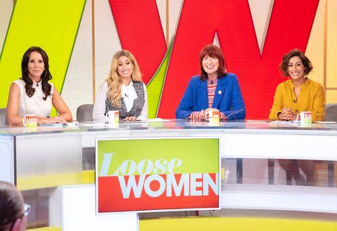'Loose Women' TV show, London, UK - 02 Oct 2018