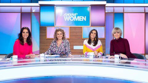 'Loose Women' TV show, London, UK - 17 Jan 2019
