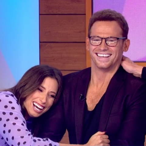 Stacey Solomon gets hilarious gift from Joe