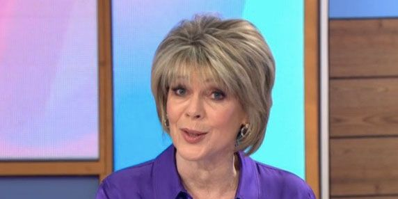 Loose Women Ruth Langsford