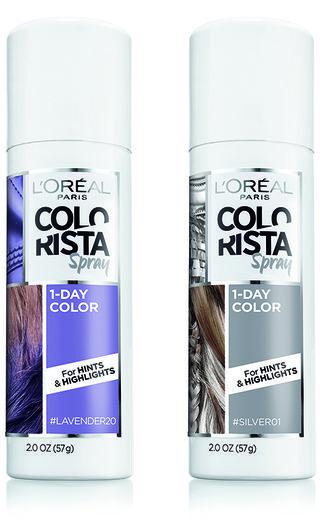 Temporary Hair Color Tips - Spray Color