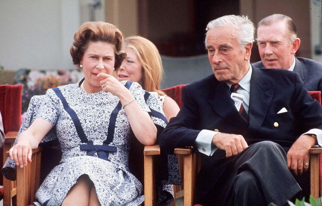Lord Mountbatten was the royal family member in an open marriage