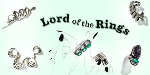 lord of the rings: statement rings