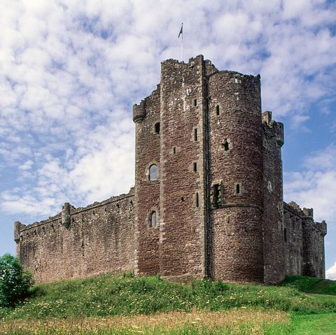 Game of Thrones Filming Locations - Doune Castle Scotland
