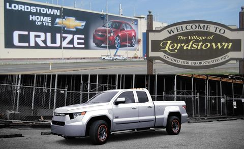 GM's Lordstown Plant May Be Sold to Electric-Truck Company Workhorse