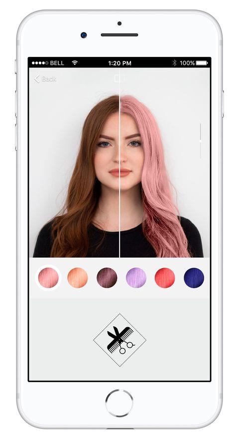 Cambiar el color de mi cabello online