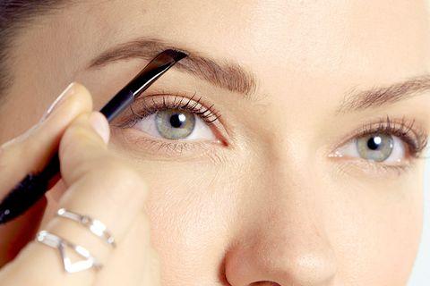 Eyebrow, Face, Eyelash, Nose, Forehead, Skin, Eye, Cheek, Beauty, Close-up,