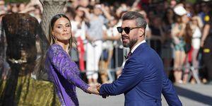 Vania Millán y Lorena Gómez coinciden en la boda de Sergio Ramos y Pilar Rubio