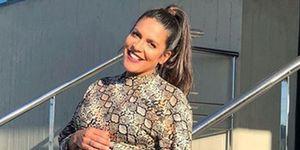 Lorena Castell, mamá de un niño al que ha llamado Rio