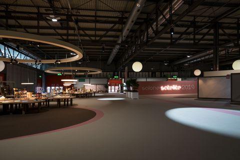 Building, Lighting, Architecture, Night, Sport venue, Hangar,