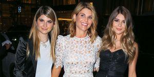 Lori Loughlin met haar dochters Bella en Olivia