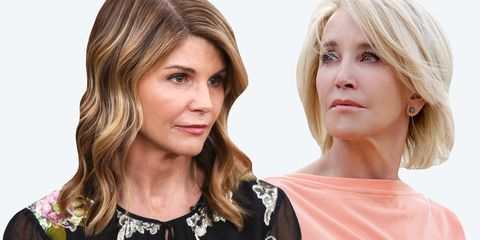 1ef779d4ae4 How Lori Loughlin and Felicity Huffman Are Coping With College Admission  Scandal