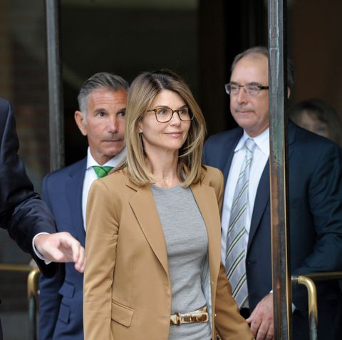 lori loughlin arriving at court