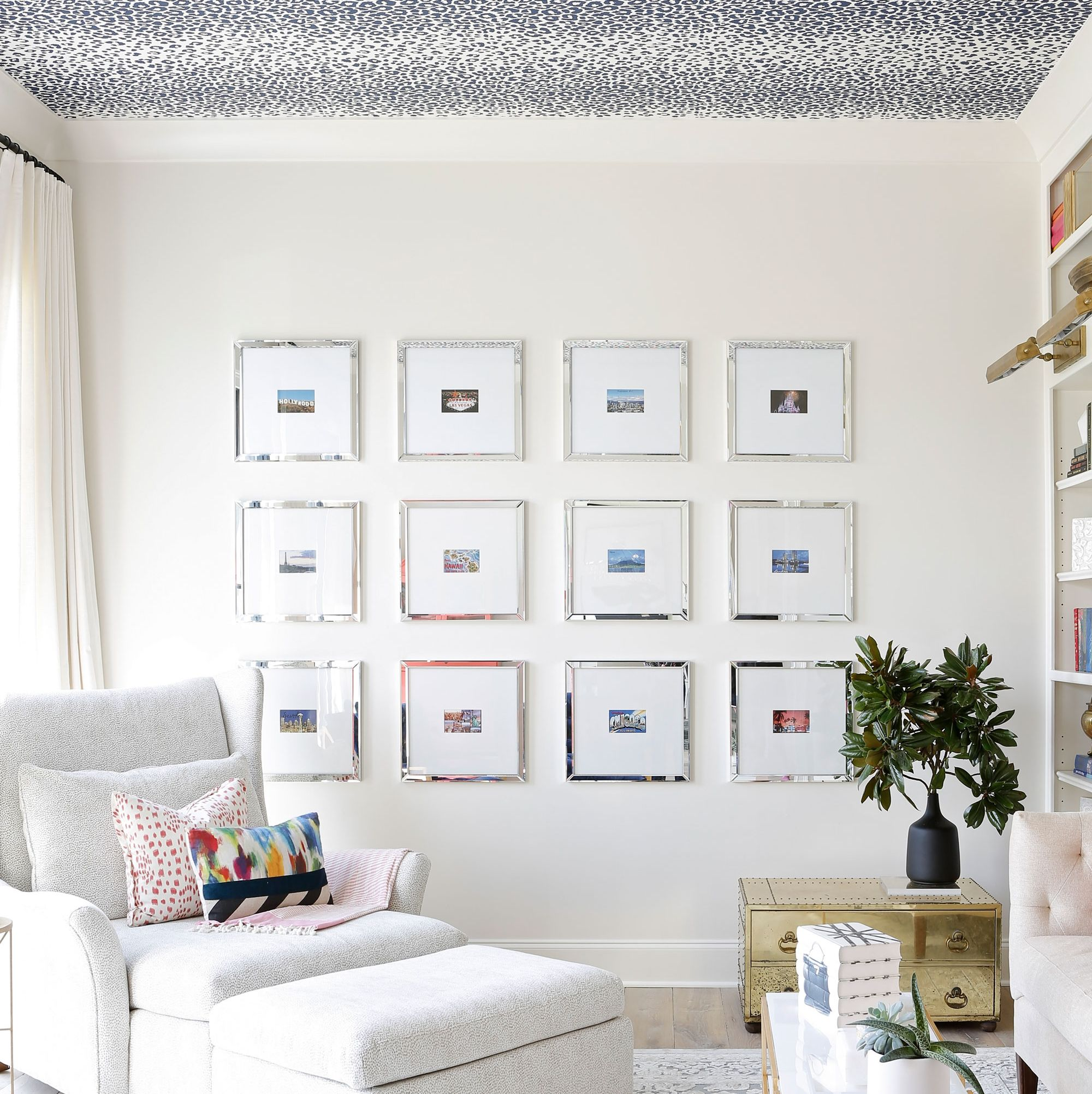 Why You Should Wallpaper Your Ceiling