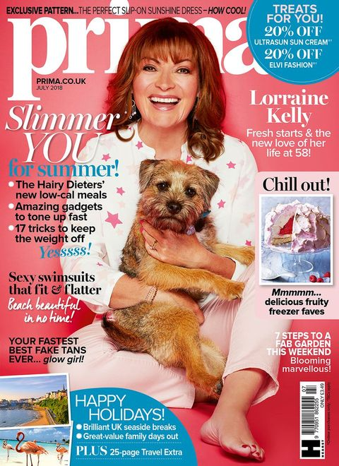 How adorable are these photos of Lorraine Kelly with her dog?