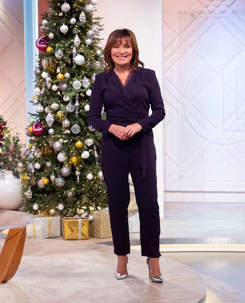 Lorraine Kelly Mango jumpsuit