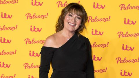 8946c20c269 Lorraine Kelly looks so on-trend in printed midi skirt from New Look