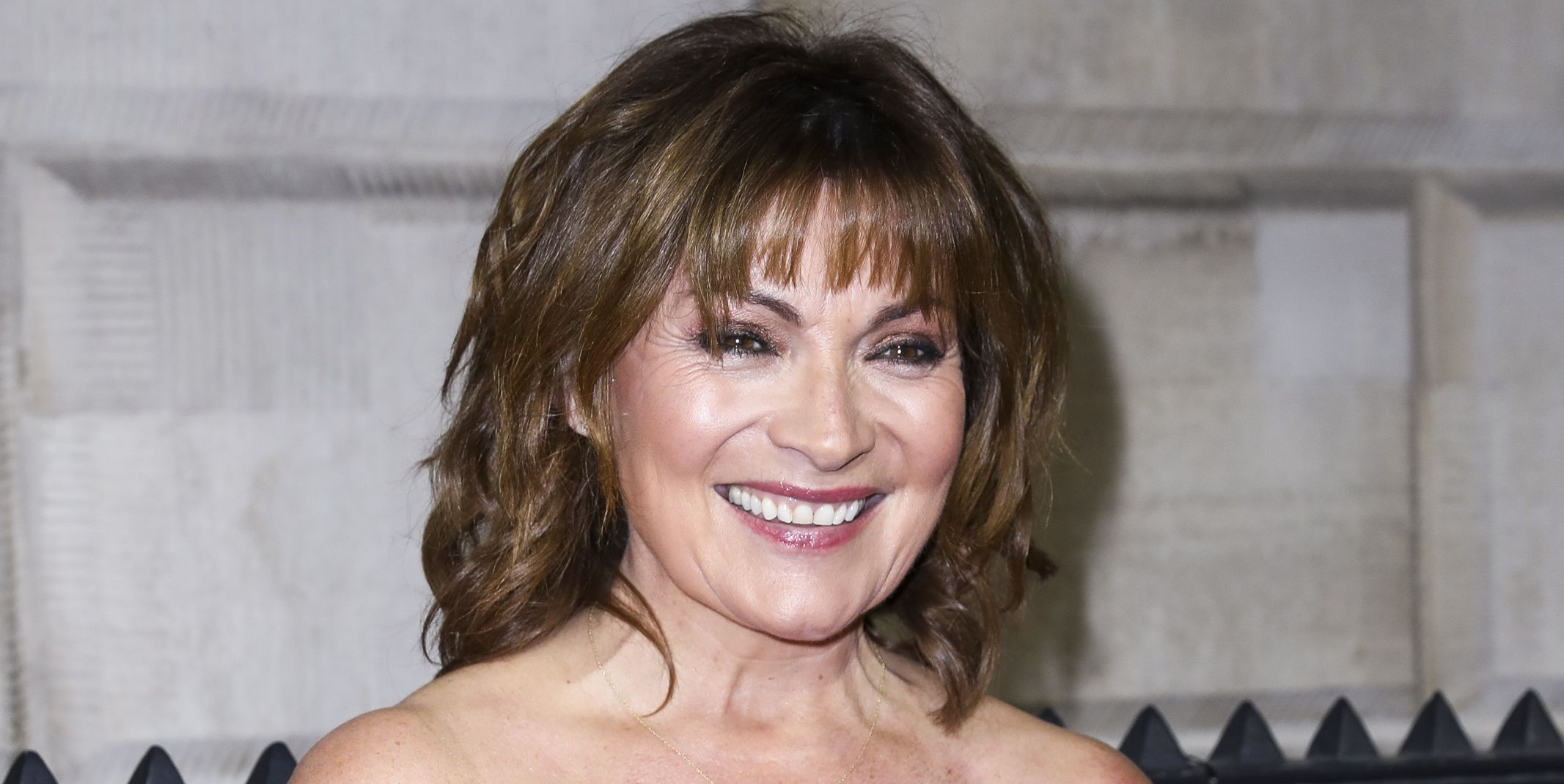 Lorraine Kelly green warehouse dress