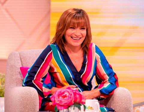 Lorraine Kelly Primark Rainbow Dress Pride