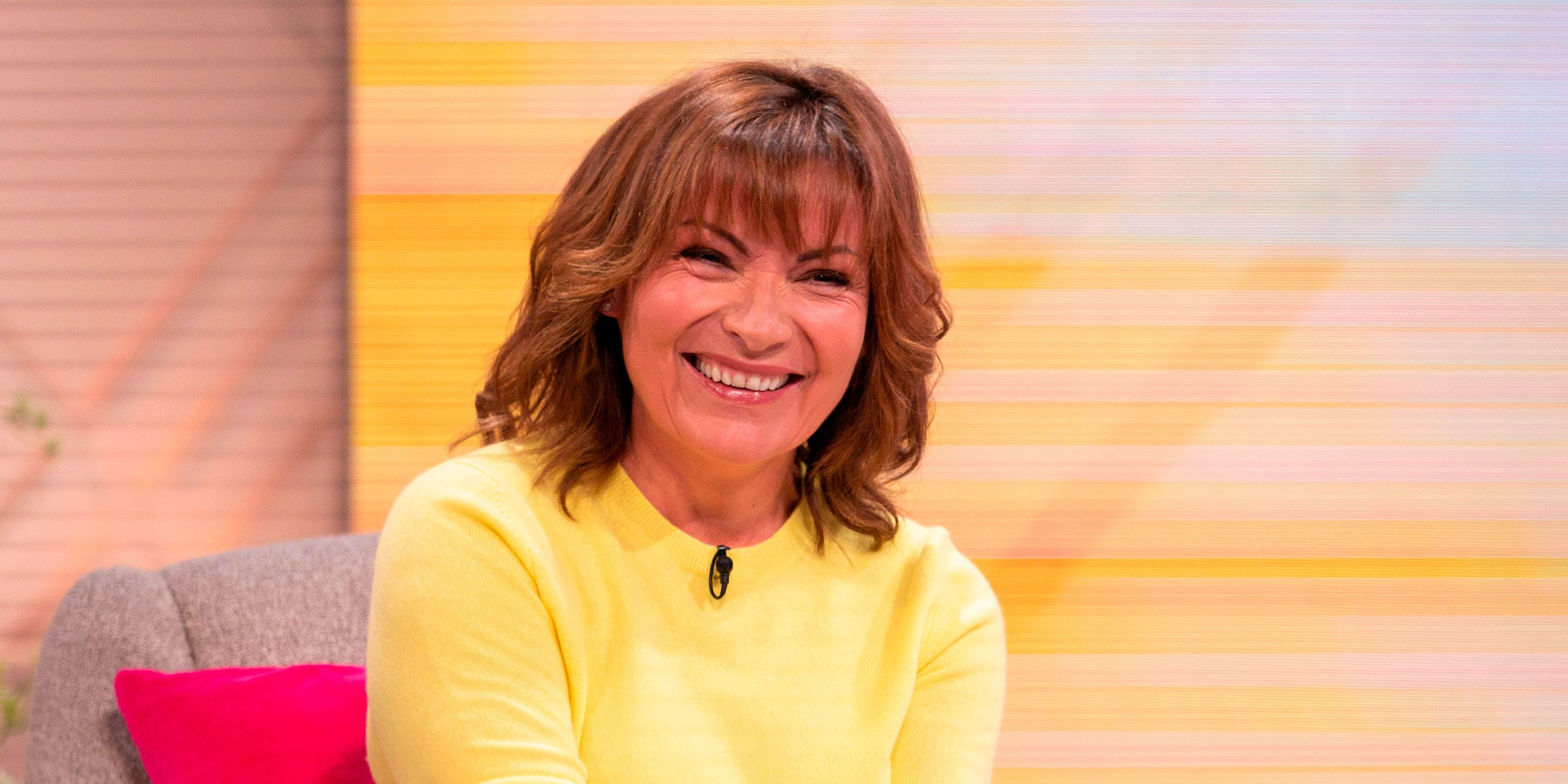 Lorraine Kelly yellow M&S top