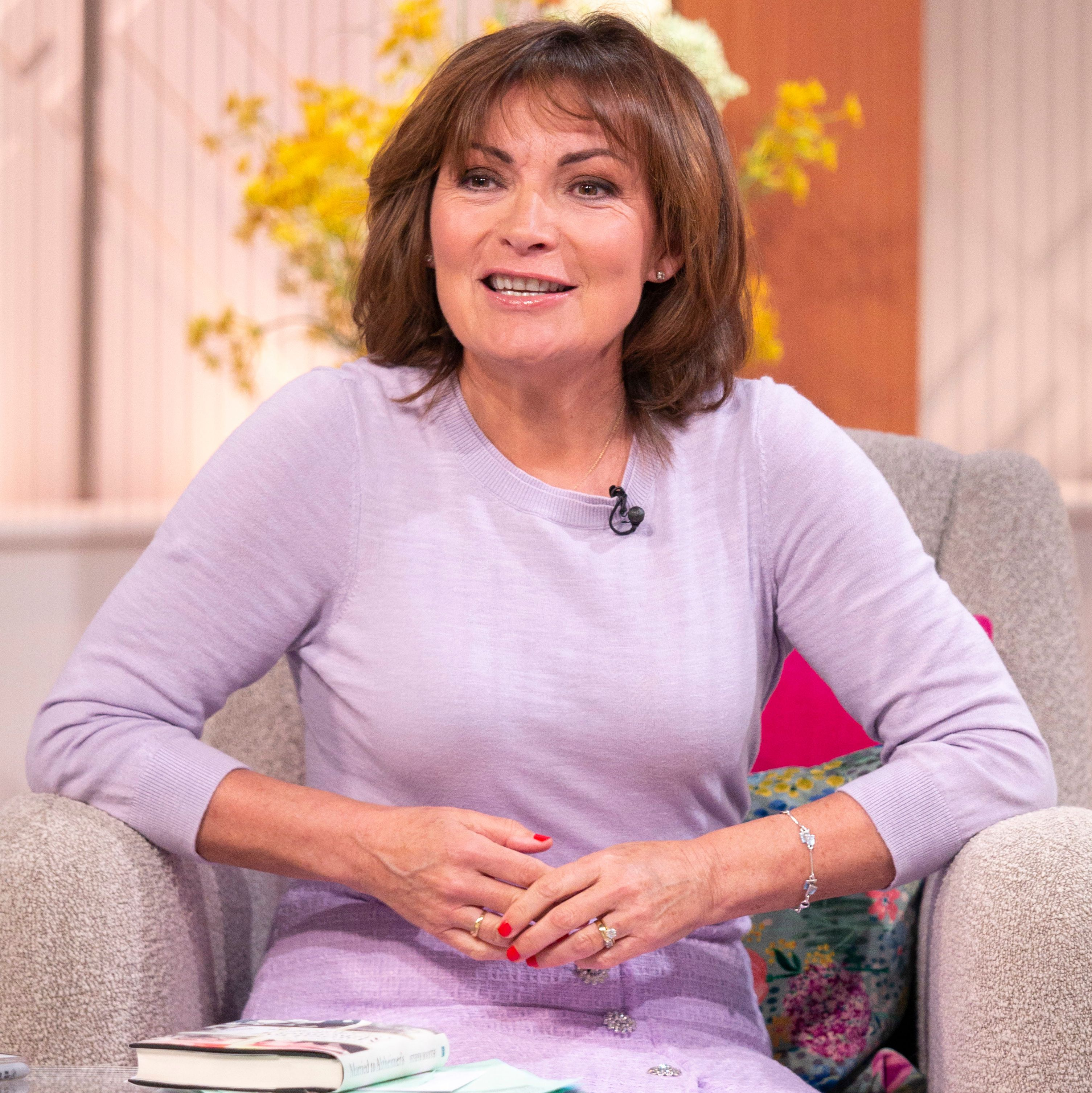 Lorraine Kelly talks downsizing to a smaller house and decorating her 'cosy' new home
