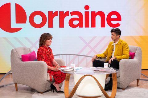 'Lorraine' TV show, London, UK - 13 May 2019