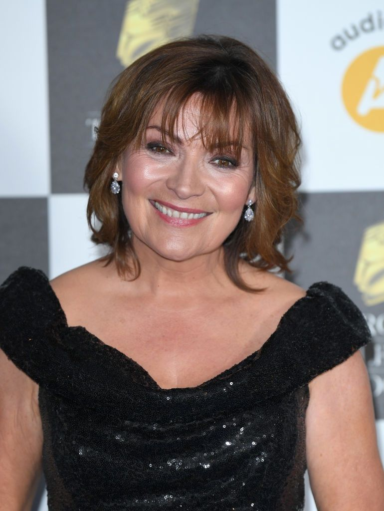 Lorraine Kelly's sparkly suit is the perfect party season outfit