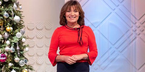 'Lorraine' TV show, London, UK - 18 Dec 2018