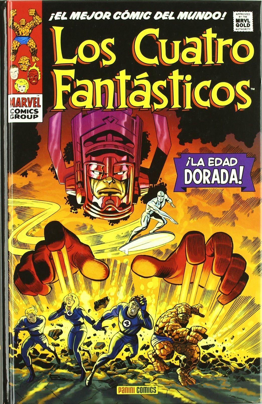 Los Cuatro Fantásticos. ¡La Edad Dorada! (Marvel Gold)Tapa dura