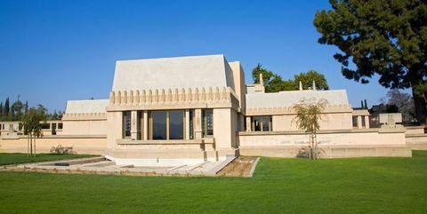 フランク・ロイド・ライトのタチアオイ邸のバーチャルツアーが公開