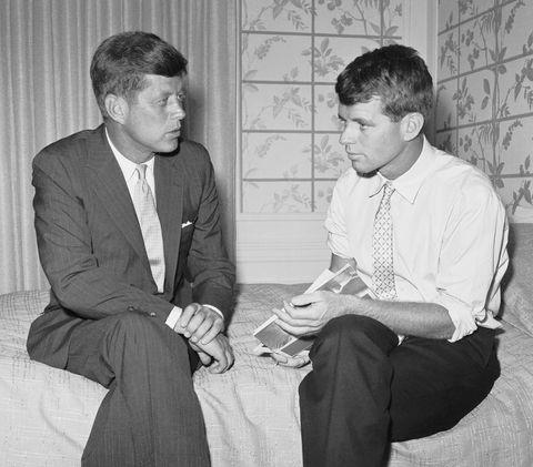 senator kennedy and his brother robert