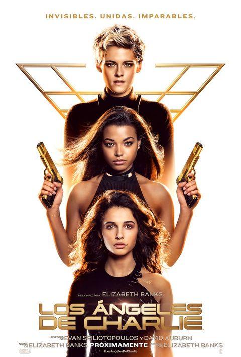 Así es el póster de la nueva película de 'Los Ángeles de Charlie'.