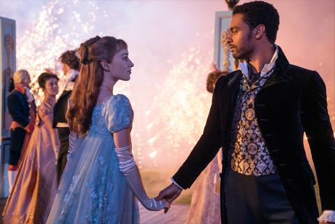 Los Bridgerton' es la serie de estreno más vista de Netflix