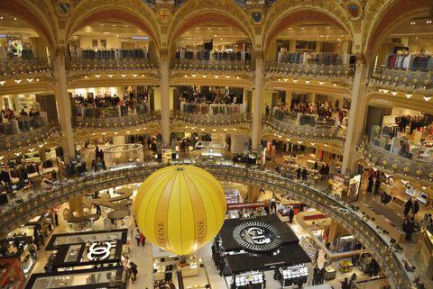 Galeries Lafayette department store, Paris