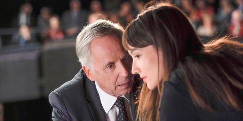 """Fabrice Luchini y Anais Demoustier en """"Los consejos de Alice"""""""