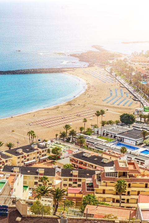 Los Cristianos in Tenerife