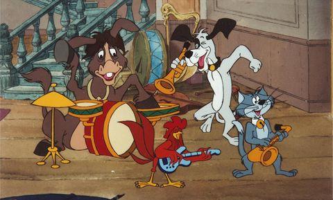 Los cuatro músicos de Bremen (1988)