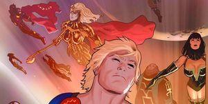Los Eternos, de Marvel