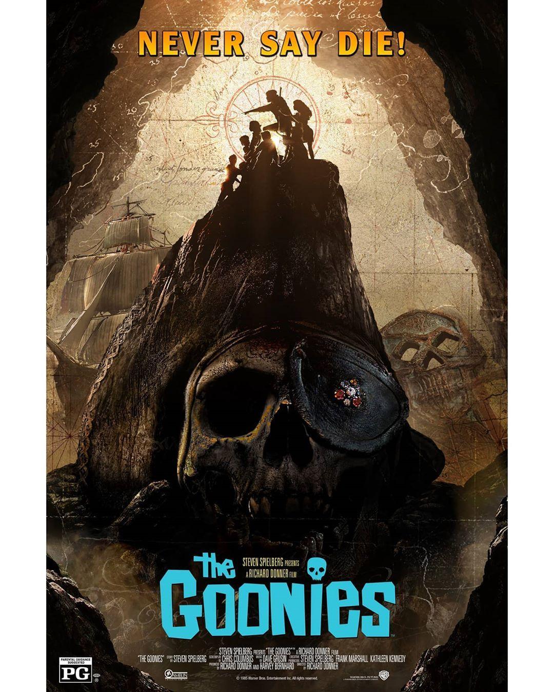 Los Goonies, Impresionante Póster de BossLogic para la versión 4K